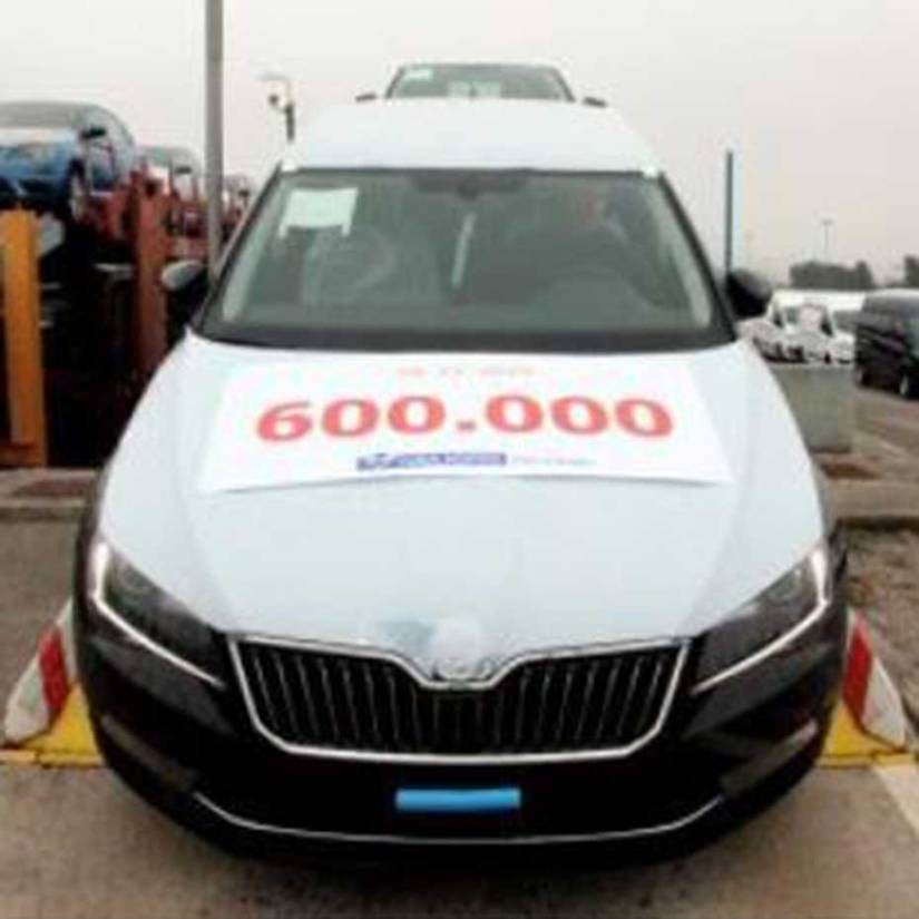 600.000th Car handled at the Koper Car Terminal