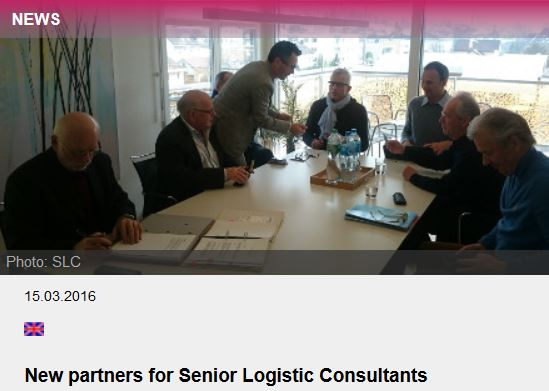 New partners for Senior Logistic Consultants